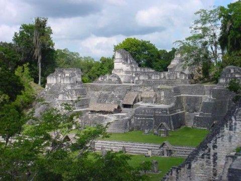 Maya Tempel im Tikal Nationalpark