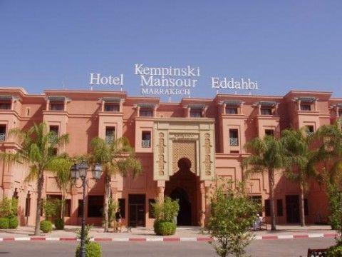 Mansour Eddahbi - Ex Kempinski (Gebäude)