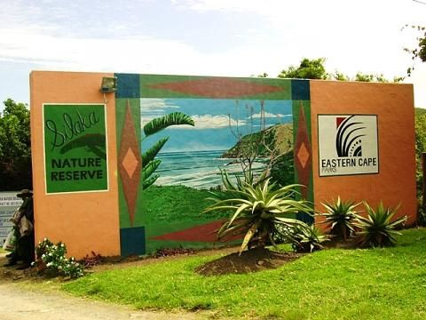 Entrance to Silaka Nature Reserve