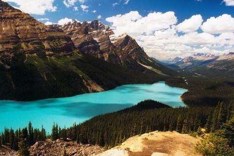 Der Peyton Lake im Jasper Nationalpark
