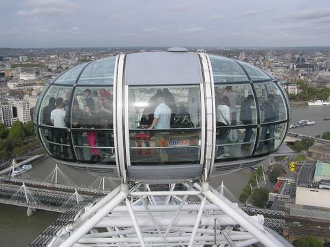 The London Eye (Dettaglio)