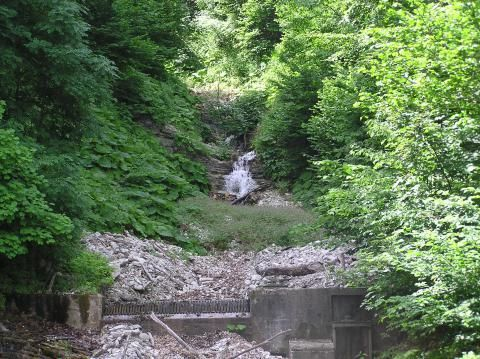 Cascate dell'Acquasanta (Dettaglio)