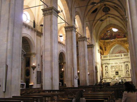 Santuario di Loreto (Veduta interna)