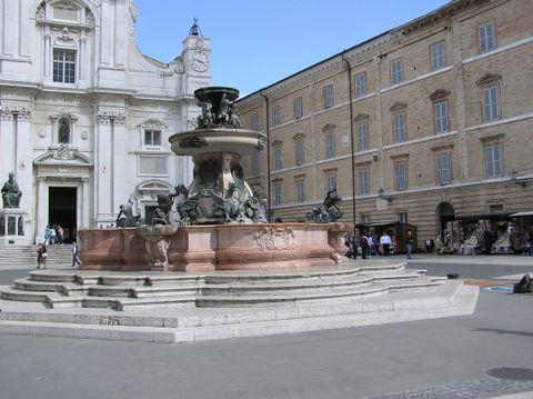 Fontana della Madonna di Loreto (Dettaglio)